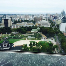 最上階からの眺め