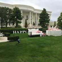 ホワイトハウスのガーデン。