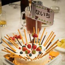 優勝ケーキ