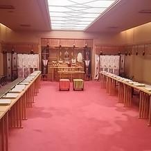 神前式の部屋