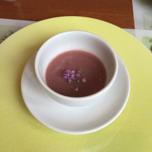 かぶとビーツのスープ