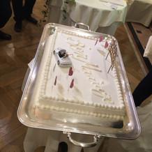 追加料金0円のケーキ