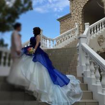 2wayカラードレス