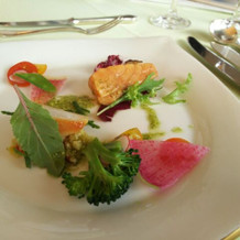 糸島産野菜を使った前菜