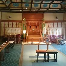 神殿の内部