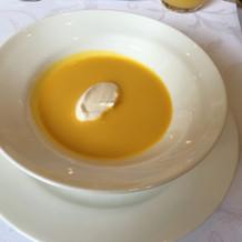 こちらもシェフと打合せ時決められるスープ