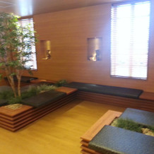 ゲスト待合室はとても広いです