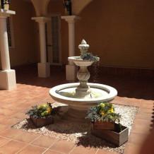 噴水はヴィラ・デ・マリアージュのシンボル