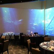 360度スクリーンの披露宴会場