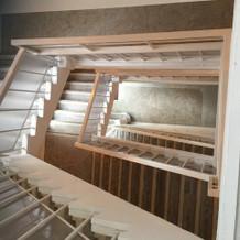 文化財の階段!撮影スポットでした