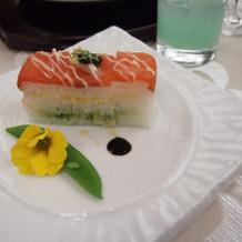 お寿司も好評でした