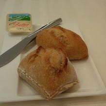 焼きたてのパン。やわらかかったです。
