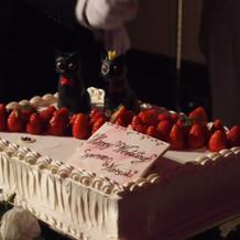 オーダーケーキです