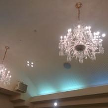 マノワール会場の天井