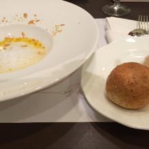 スープが美味しかったです。