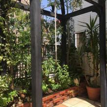 ガーデンにある鐘