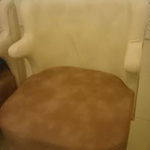 披露宴会場、椅子
