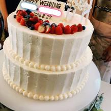 オリジナルウエディングケーキ