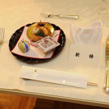 料理の前菜