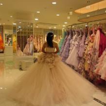 プリンセスガーデン@横浜 多数のドレス