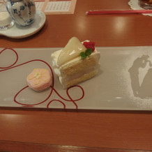 洋梨のケーキ(試食)