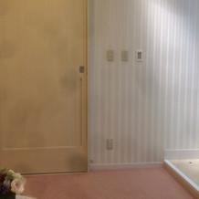 試着室もとても綺麗です