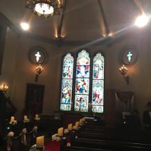 教会です! とてもおしゃれでした。