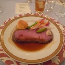 ジューシーで美味しかったお肉