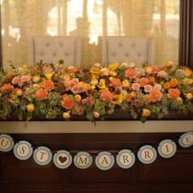 高砂 好きな花屋さんに装花を依頼