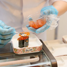 当日のお寿司ビュッフェ