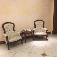 アンティーク調の椅子