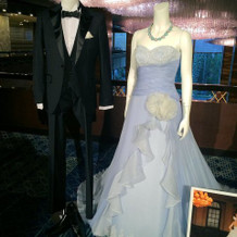 ドレス展示3