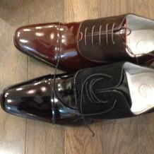 新郎靴は3色から選べる