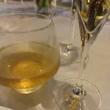 ノンアルコールにはグラスに目印