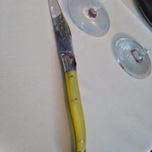 ナイフの色が選べました