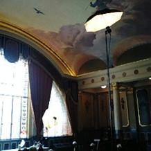 天井画が素敵