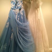 レンタルしたドレス。