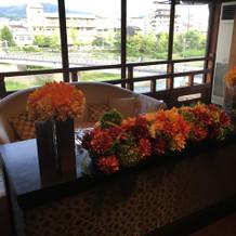 窓からの景色は京都らしくて素敵です!