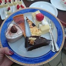ケーキビュッフェ