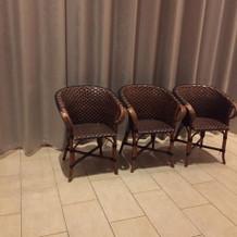 受付用の椅子