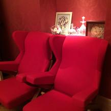 ブライズルームのソファ