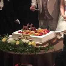 可愛いウェディングケーキ!