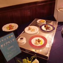 12600円のフランス料理