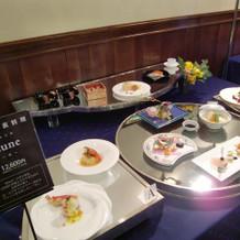 12600円の和洋折衷料理