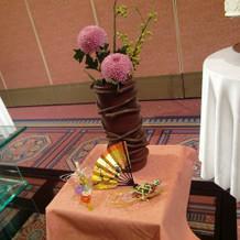 装花は日比谷花壇で超一流です