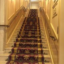 こちらの階段もステキ