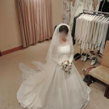 白ドレス3 正面