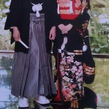 袴&黒引き