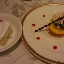 デザートとケーキ