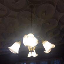 天井の彫りに特徴があります。